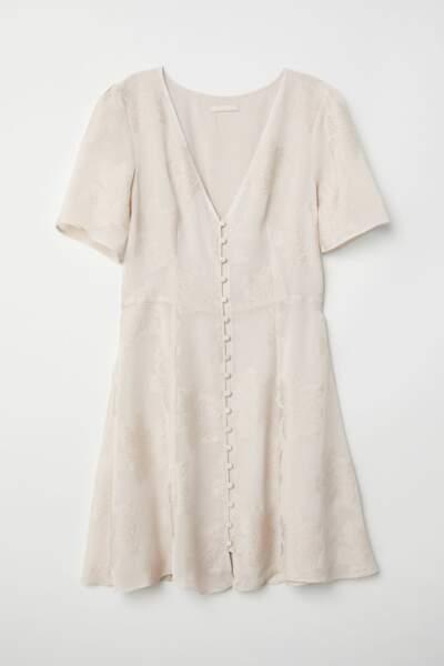 Robe en tissu jacquard, H&M, 29,99 euros au lieu de 49,99 euros