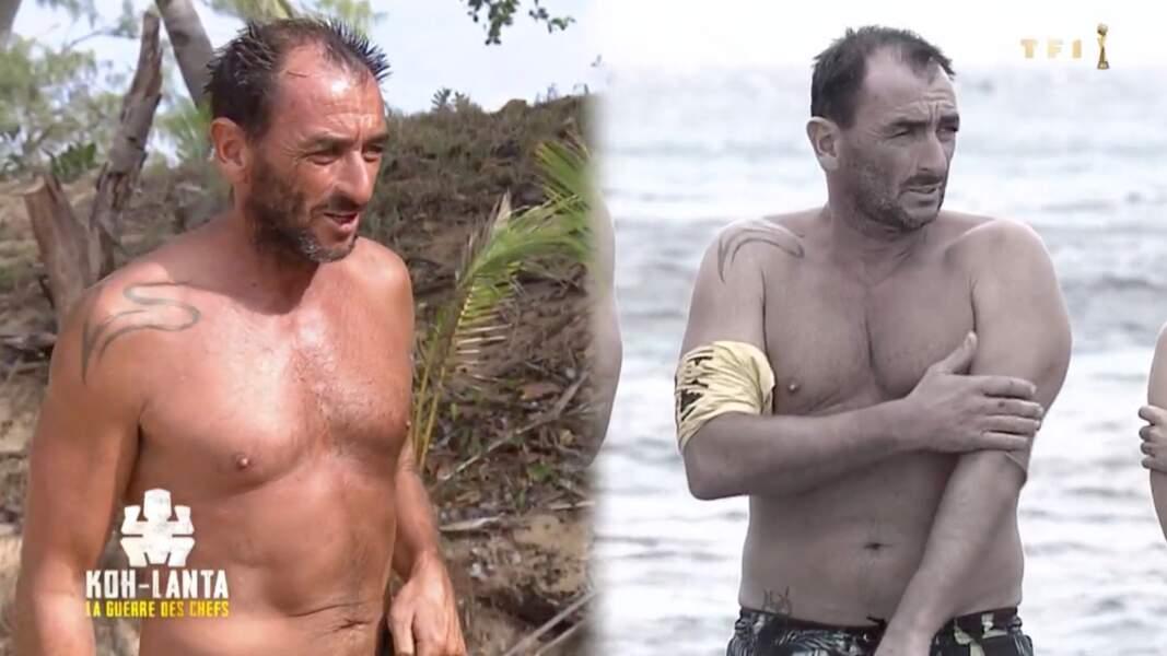 Au début il en pesait 87, il a donc perdu 15 kilos