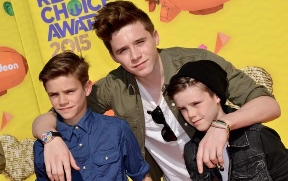 les Beckham fils : Au nom du père ! (Brooklyn, Romeo et Cruz Beckham)