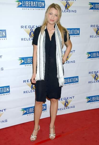 Gossip Girl 10 ans après, à quoi ressemblent les acteurs - Blake Lively, alias Selena Van Der Woodsen, en 2007