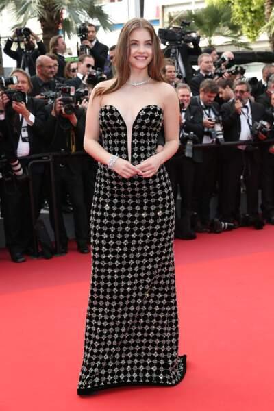 Cannes - Montée des Marches pour le 70ème anniversaire : Barbara Palvin