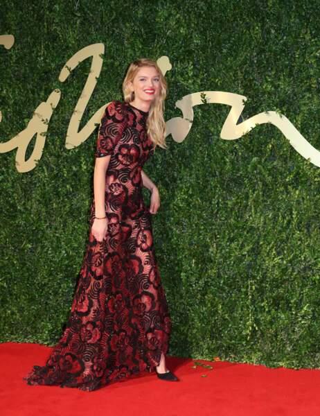 Lily Donaldson, un vent de fraîcheur sur le tapis rouge