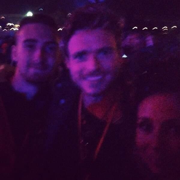 Robb a fait un selfie de nuit (et ce n'est pas très concluant)