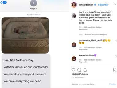 PHOTOS Kim Kardashian maman : elle dévoile le visage de son fils pour la première fois !
