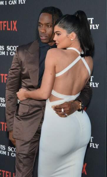 Kylie Jenner et Travis Scott à la première du documentaire Netflix à Los Angeles