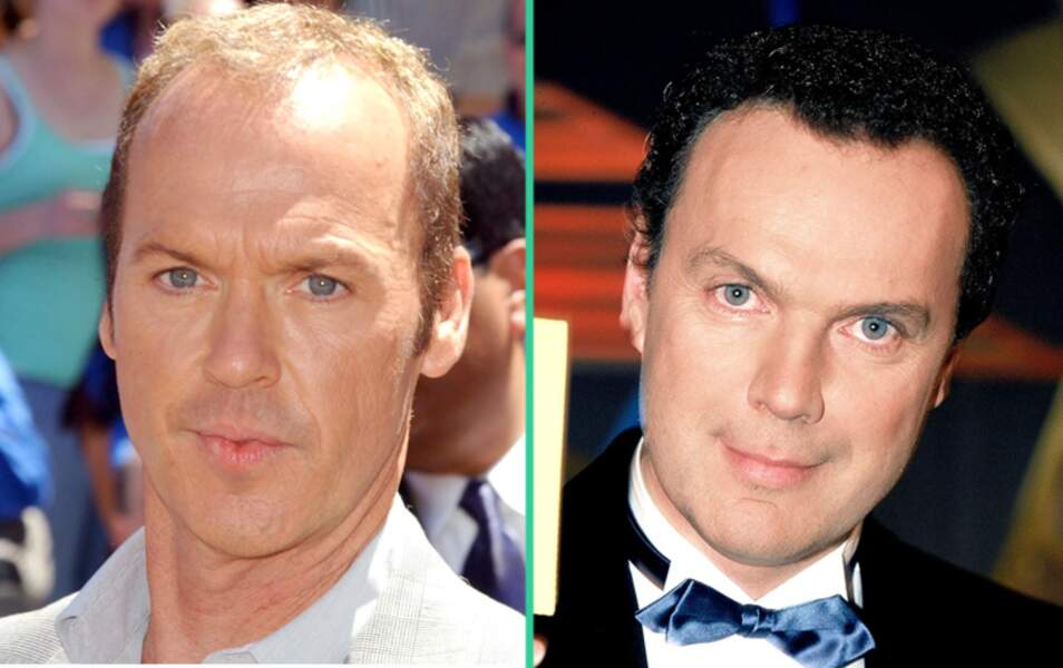 Michael Keaton et Julien Lepers