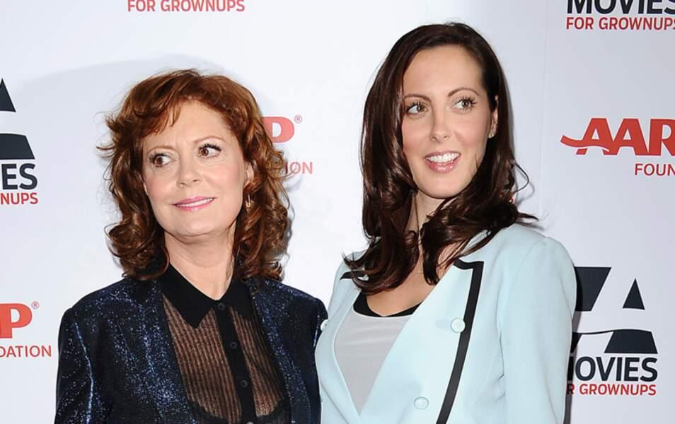 Susan Sarandon et sa fille Eva