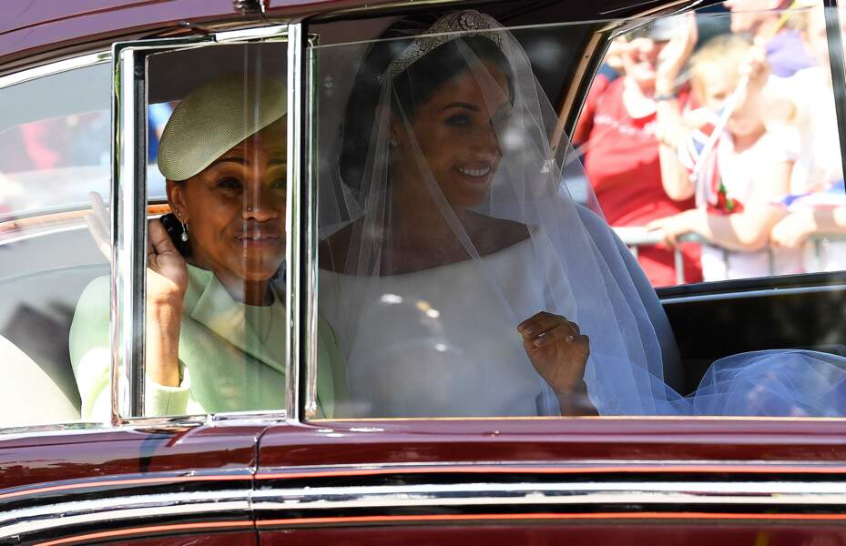 Mariage du prince Harry : la robe de Meghan Markle a été créée par Clare Waight Keller, DA de Givenchy