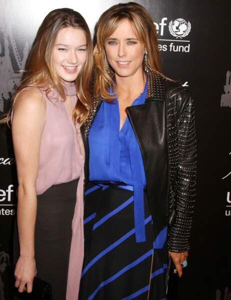 Mais lorsqu'elle est rejointe par sa fille, West Duchovny, le duo mère-fille est au top !