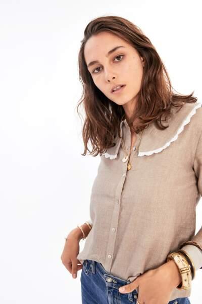 Balzac Paris : Chemise Gian dorée