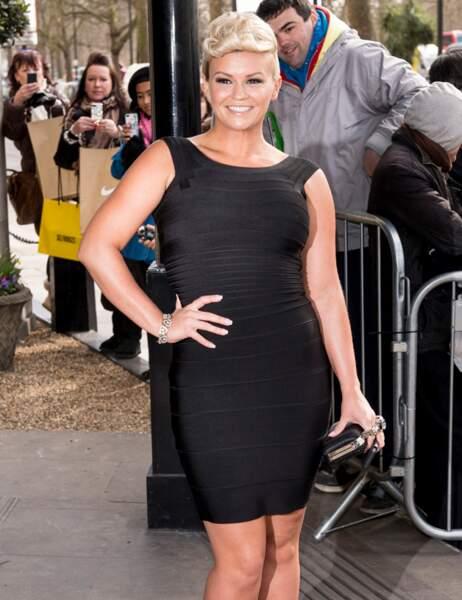 Kerry en 2013. En plus d'avoir coupé ses cheveux et pris quelques kilos, elle est une star de la real TV anglaise