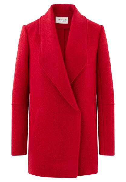 Manteau en laine. 48,96 €, Promod