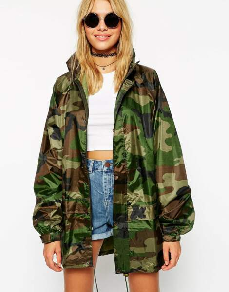 Parka camouflage ASOS - 60,99 €