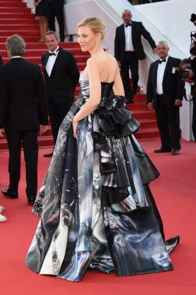 Cate Blanchett, vu de dos !