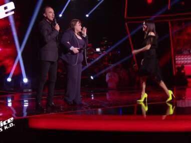 PHOTOS Jenifer : découvrez le prix de ses escarpins jaunes dans The Voice