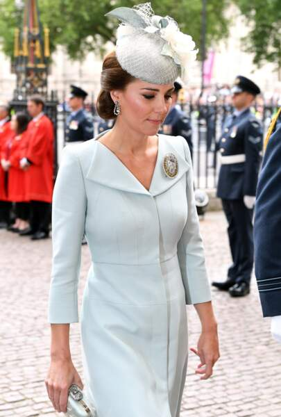 Kate Middleton au centenaire de la Royal Air Force, à Londres