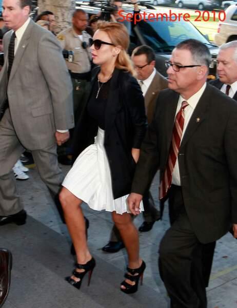 Lindsay Lohan septembre 2010