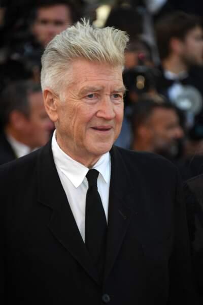 Cannes - Montée des Marches pour le 70ème anniversaire : David Lynch