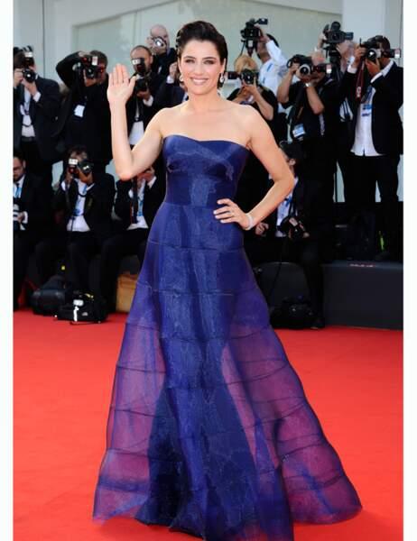 L'actrice italienne Luisa Ranieri