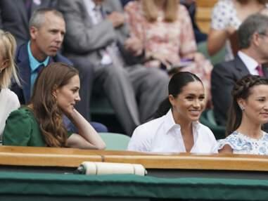 Kate Middleton et Meghan Markle ensemble à Wimbledon