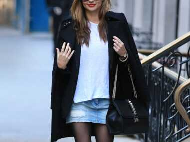Le shopping de Marieluvpink : la jupe en jean comme Miranda Kerr