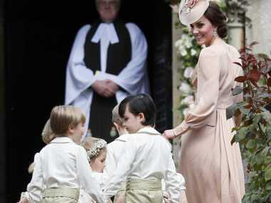 PHOTOS Mariage Pippa Middleton : le prince George et la princesse Charlotte tout en élégance