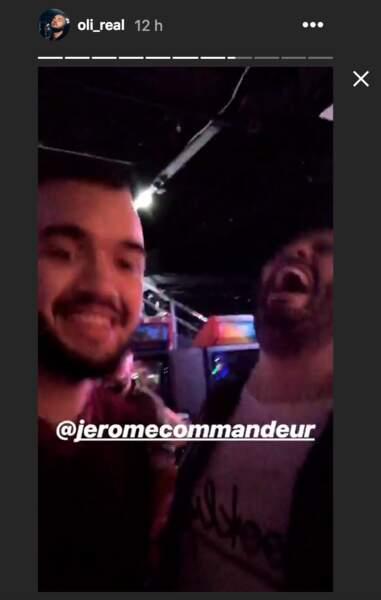 Oli s'est éclaté avec Jérôme Commandeur