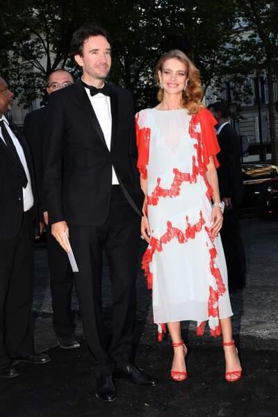 Dîner Vogue : Antoine Arnault et Natalia Vodianova