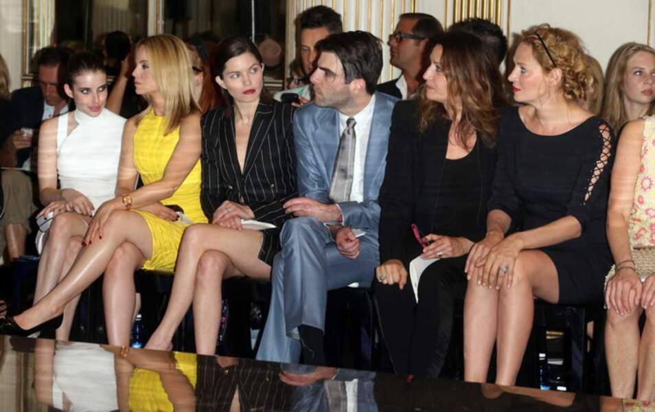 Emma Roberts, Mena Suvari, Delphine Chanéac, Zachary Quinto et Uma Thurman