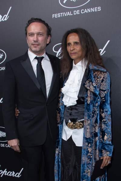 Vincent Perez et Karine Silla au Trophée Chopard