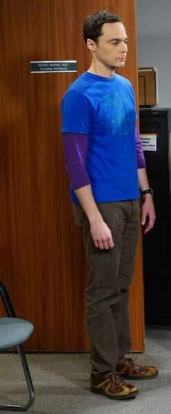 Sheldon Cooper joué par Jim Parsons