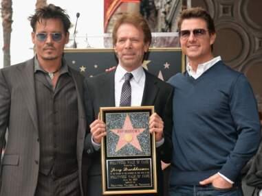 Jerry Bruckheimer a reçu son étoile sur le walk of fame devant Johnny Depp et Tom Cru