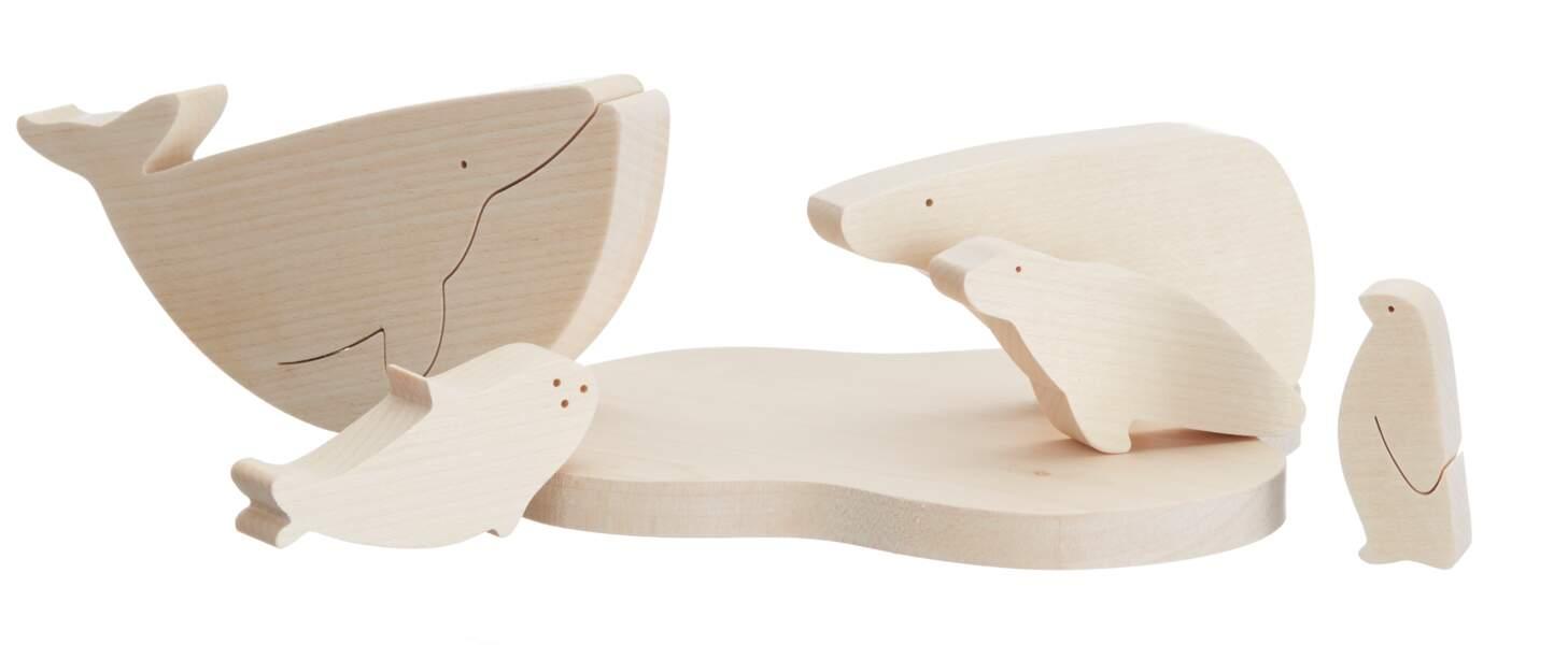 Marine Arctic Toys. Des Choses en Bois, 32€, Etsy.