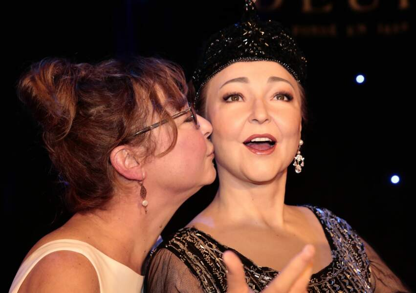 Catherine Frot et son double