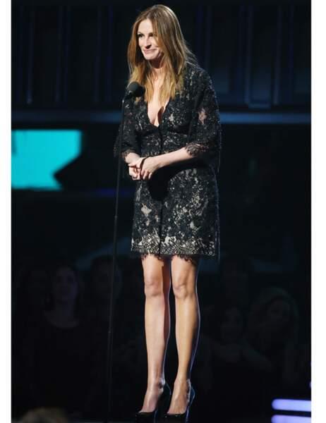 Julia Roberts sur scène