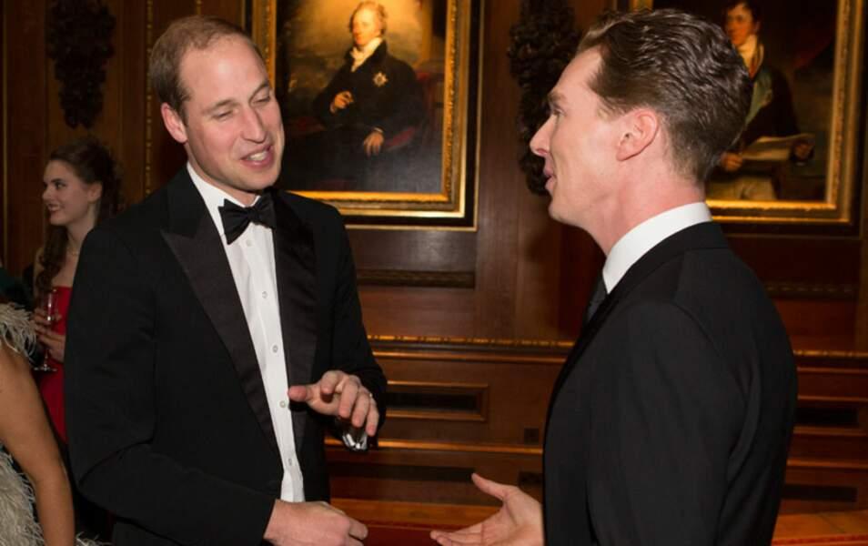 Et même face à Sherlock, l'extra Benedict Cumberbatch, il a toujours un bon mot