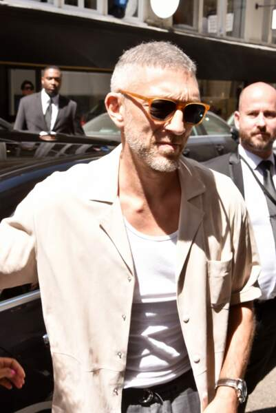 Fashion week Hommes, défilé Louis Vuitton : Vincent Cassel