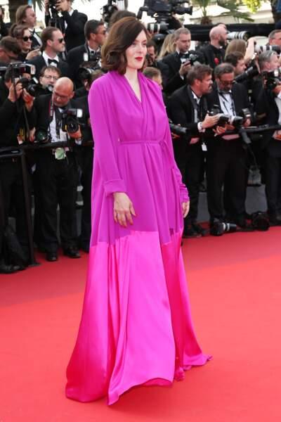 Cannes - Montée des Marches pour le 70ème anniversaire : Valerie Donzelli