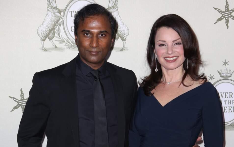 L'ex Nounou d'enfer Fran Drescher et Shiva Ayyadurai