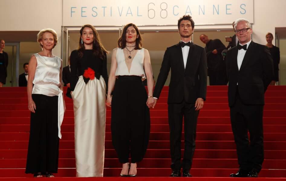 L'équipe du film Marguerite et Julien
