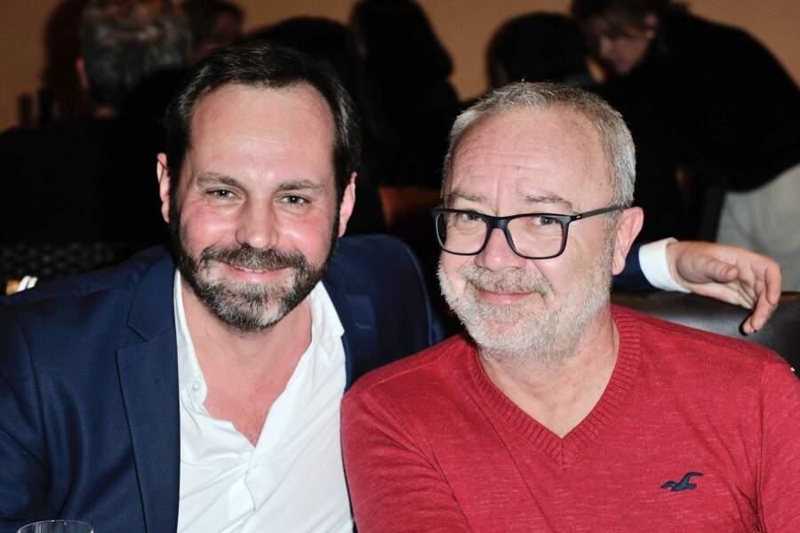 Olivier Baroux et Fabien Saillant (Syfy)