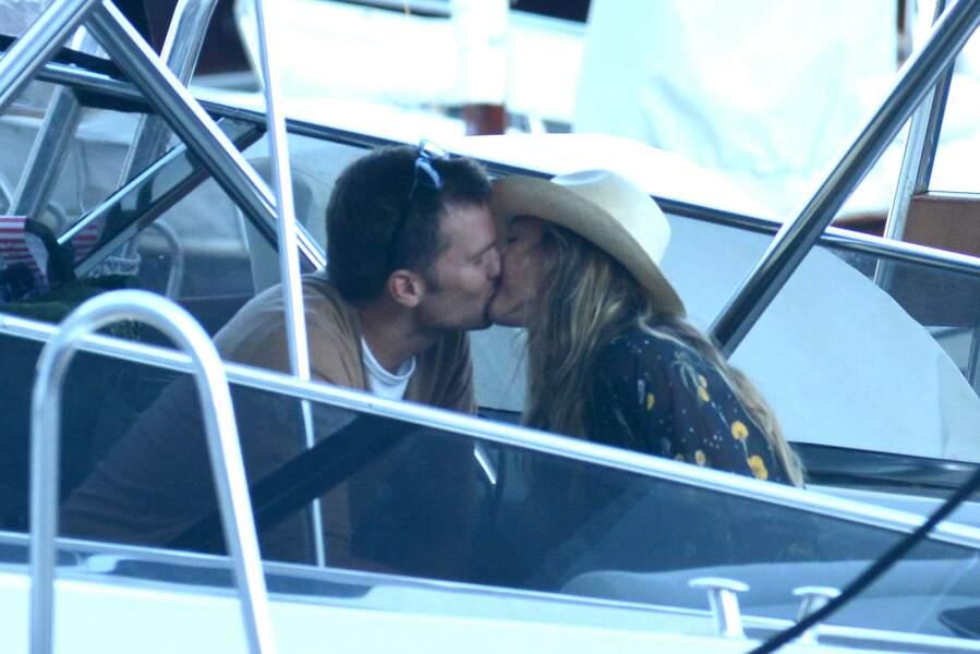 Gisele Bünchen et son mari Tom Brady : à peine arrivés qu'on ne les tient déjà plus