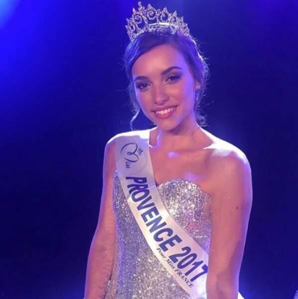 Election de Miss France 2018 - Kleofina Pnishi est Miss Provence 2017