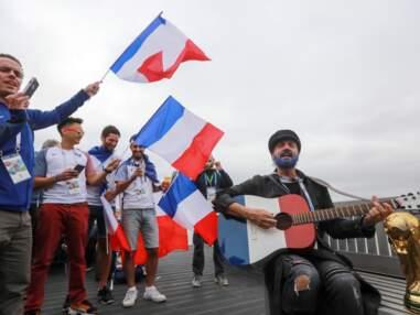 VOICI - People demi-finale France - Belgique - Saint-Pétersbourg