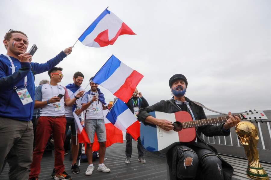 2018 FIFA World Cup - Demi-finale France - Belgique