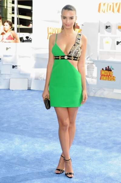 Emily Ratajkowski en mode amazone...