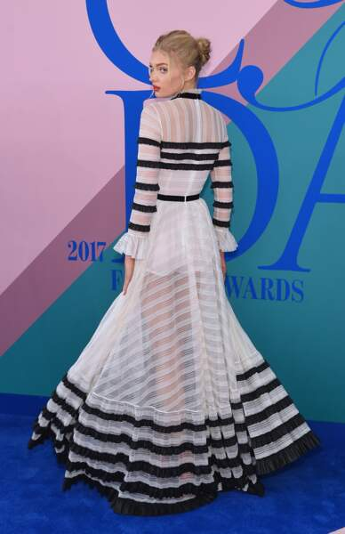 CFDA Fashion Awards 2017 - ... sur la transparence