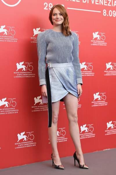 Emma Stone à la 75ème Mostra de Venise