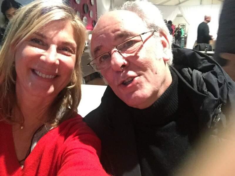 Selfie avec Maxime Le Forestier