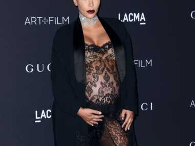 Kim Kardashian en dentelle aux LACMA awards